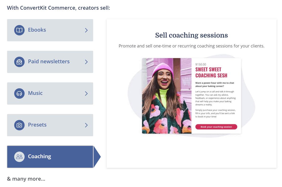 Selling Through ConvertKit